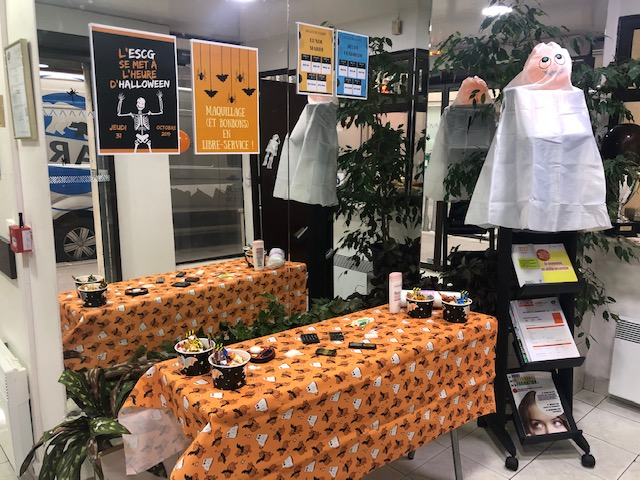 Halloween ESCG_décor hall 1